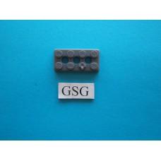 Grondplaat 4x2 (F1) grijs nr. 16264