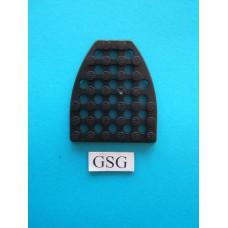 Grondplaat speciaal (F3) zwart nr. 16270