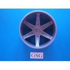 Wiel 50 mm grijs nr. 16120