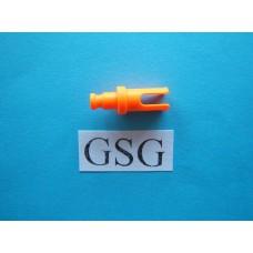 As met clip oranje fluoriserend nr. 16240