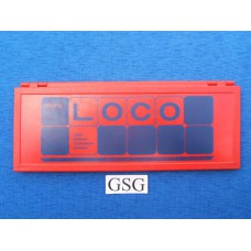 Basisdoos mini loco rood nr. 25191-02