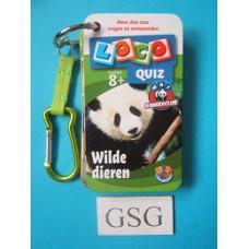 Loco quiz wilde dieren WNF nr. 25261-01
