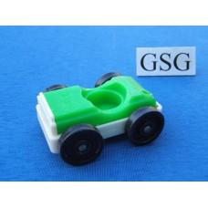 Auto vintage groen-wit nr. 2044-02