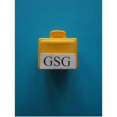 Koffer geel nr. 2124-02