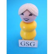 Vrouw geel nr. 2183-02