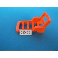 Ligstoel oranje nr. 2065-04