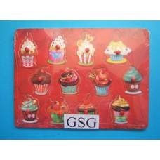 Legplankje cupcakes nr. 2035563-80