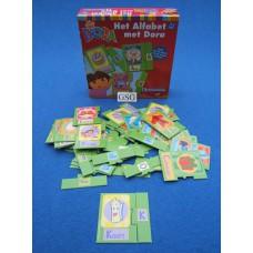 Het alfabet met Dora nr. 60138-02