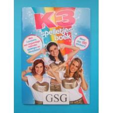 K3 spelletjesboek nr. BOK3N0000110-01