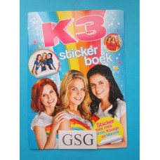 K3 stickerboek nr. BOK3N0000020-01