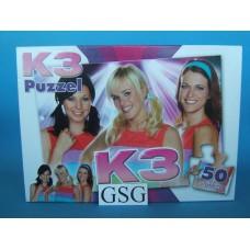 K3 puzzel 50 st nr. MEK300001180-01
