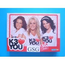 K3 puzzel love you 50 st nr. MEK300003650-01