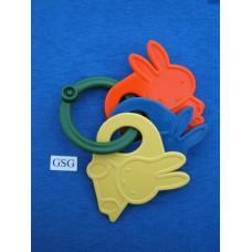 Rammelaar drie kleuren Nijntjes nr. 5015-02