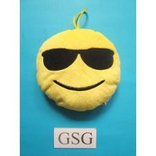 Emoji kussen cool nr. 50703-02 (15 cm)