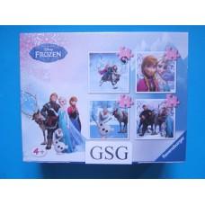 Frozen 2x 25 st + 2x 36 st nr. 07 300 9-01