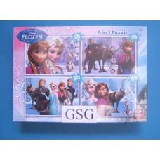 Frozen 2x 35 st + 2x 50 st nr. 85460-01