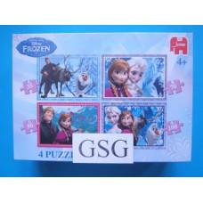 Frozen 35 st + 50 st + 70 st + 100 st nr. 17429-01