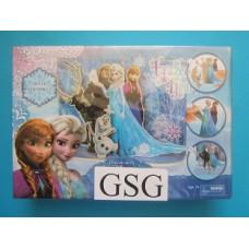 Frozen do it yourself scene nr. 54306-00