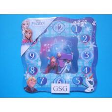 Houten puzzelklok Frozen 12 st nr. 02-15-03-59313-00