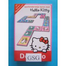 Spelenderwijs leren met Hello Kitty domino nr. 29393-00