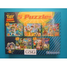 Toy Story and beyond 3x 48 st + 2x 20 st nr. 91655-01