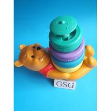 Tuimelstapel Winnie de Pooh met licht en geluid nr. 6035-02