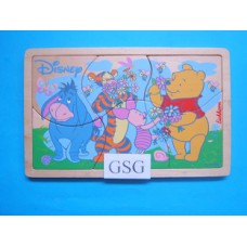 Winie de Pooh 6 st nr. 6039-02