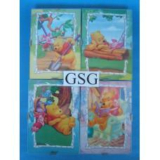 Winnie de Pooh 4 schilderijtjes nr. 6025-02