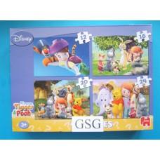 My friends Tigger & Pooh 12 st + 16 st + 20 + 24 st nr. 01142
