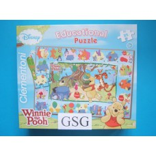 Winnie the Poo educational puzzle 35 st nr. 13598-00