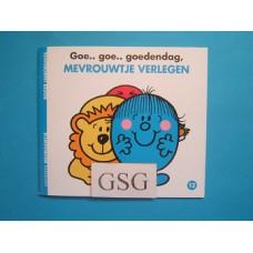 Goe… goe… goedendag, mevrouwtje Verlegen nr. 3743-01