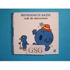 Mevrouwtje Bazig redt de dierentuin nr. 3745-01