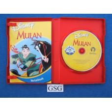 Vertelboek en CD Mulan