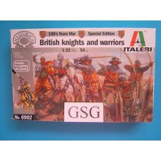 Britsh Knights and warriors 1:32 nr. 6902-01
