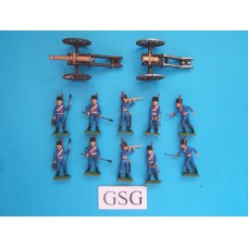 French Artillery 1:32 nr. 6868-06