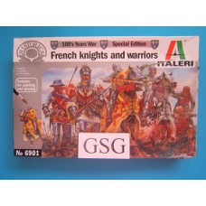 French Knights and warriors 1:32 nr. 6901-01