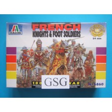 French Knights & Foot Soldiers 1:32 nr. 6860-01