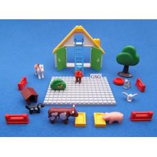 123 Playmobil boerderij set 21-delig