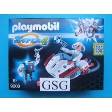 Skyjet met Dr. X & robot nr. 9003-00