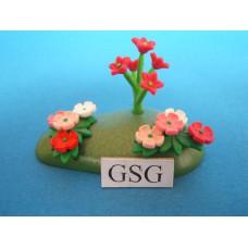 Perkje met bloemen nr. 4300-02