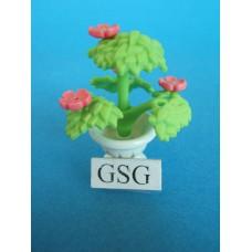 Pot met bloemen nr. 4354-02