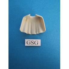 Mantel wit  kort nr. 4305-02