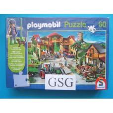 Playmobil op de boerderij 60 st nr. 56040-01