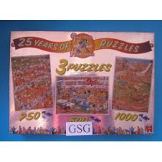 Jan van Haasteren 2 puzzels 750 1000 st nr. 1490-04