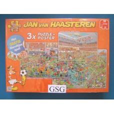 Jan van Haasteren 3 puzzels 500 750 1000 st nr. 19004-01