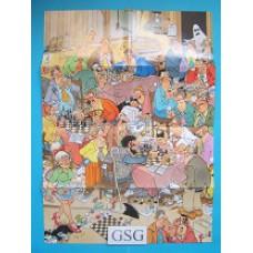 Poster de schaakclub nr. 21077-02