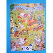 Poster golf nr. 21052-02
