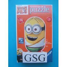 Despicable me 3 tourist 3D puzzel 54 st nr. 11 672 0-01