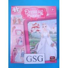Dress up puzzel princess 70 st nr. 05168-01