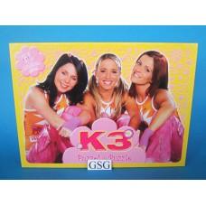 K3 puzzel roze / geel 60 st nr. 18013-01